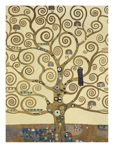 The Tree of Life IV-Gustav Klimt-Art Print