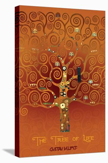 The Tree of Life Pastiche Brule--Stretched Canvas Print