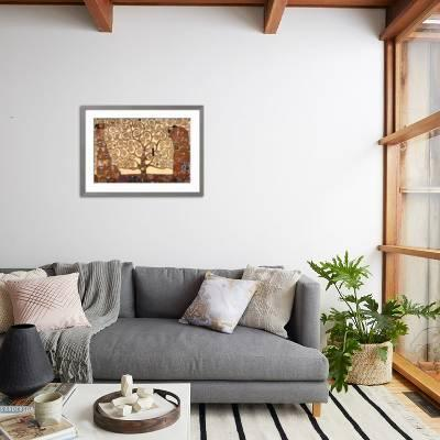 tree design decorative pillows for living room home goods.htm the tree of life  stoclet frieze  c 1909  art print gustav klimt  life  stoclet frieze  c 1909  art print