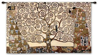 The Tree of Life, Stoclet Frieze, c.1909-Gustav Klimt-Wall Tapestry