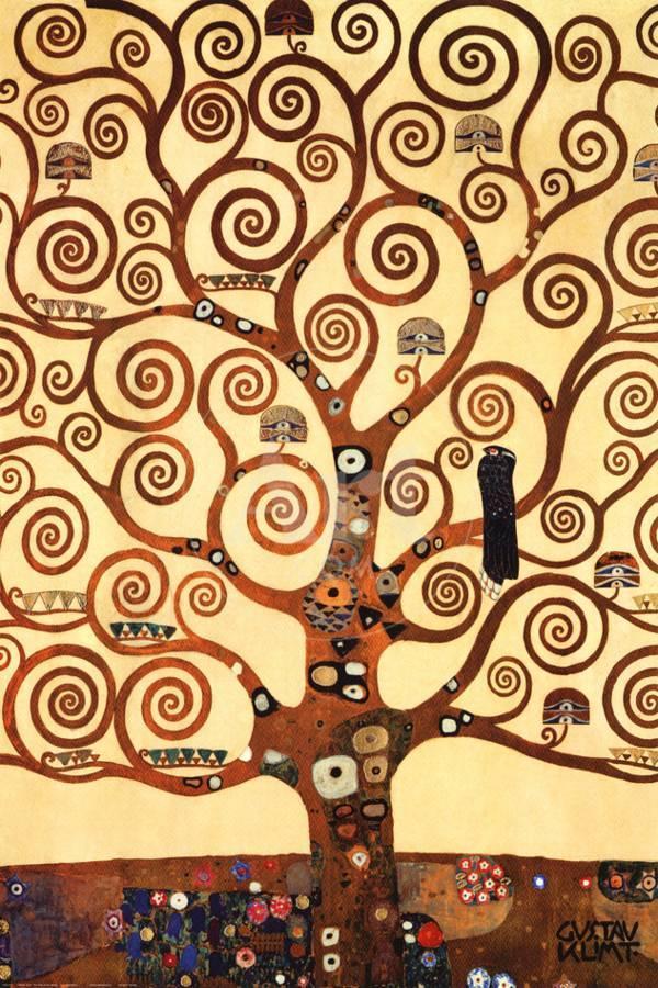 The Tree of Life, Stoclet Frieze, c.1909 Art Print by Gustav Klimt ...