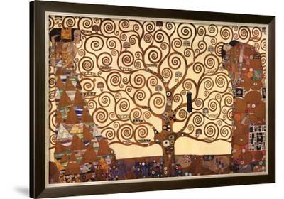 The Tree of Life, Stoclet Frieze, c.1909-Gustav Klimt-Framed Art Print