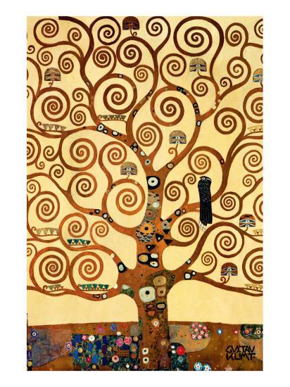 The Tree of Life, Stoclet Frieze, c.1909-Gustav Klimt-Premium Giclee Print