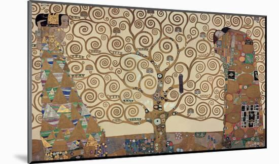 The Tree of Life, Stoclet Frieze, c.1909-Gustav Klimt-Mounted Giclee Print