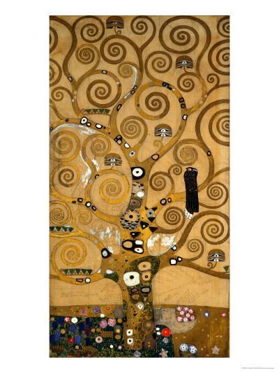The Tree of Life, Stoclet Frieze, c.1909-Gustav Klimt-Giclee Print
