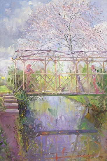 The Trellis Crossing-Timothy Easton-Giclee Print
