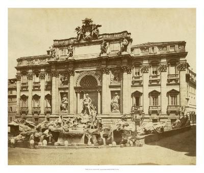 The Trevi Fountain-Giacomo Brogi-Giclee Print