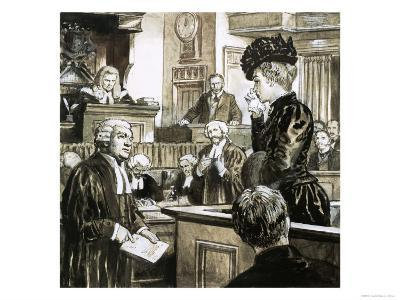 The Trial For Murder of Madeleine Smith-C.l. Doughty-Giclee Print
