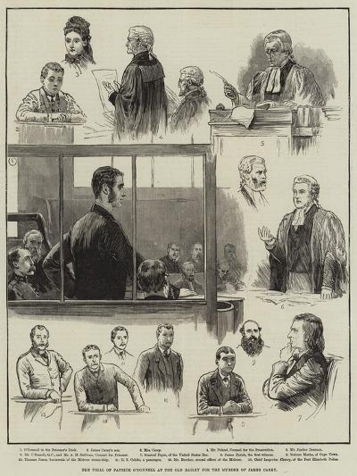 The Trial of Patrick O'Donnell at the Old Bailey for the Murder of James Carey--Giclee Print