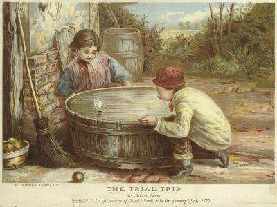 The Trial Trip-Myles Birket Foster-Giclee Print