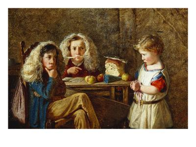The Trial-Charles Hunt-Giclee Print