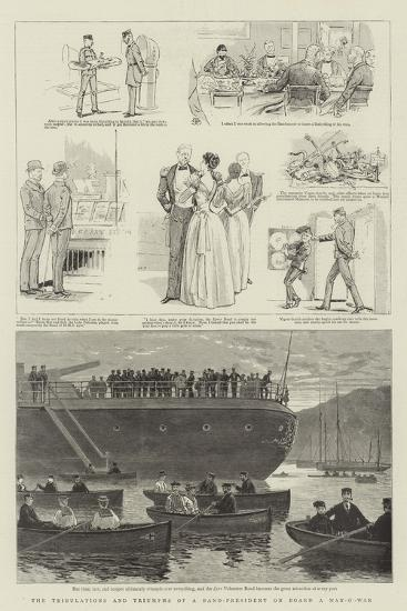 The Tribulations and Triumphs of a Band-President on Board a Man-O'-War--Giclee Print