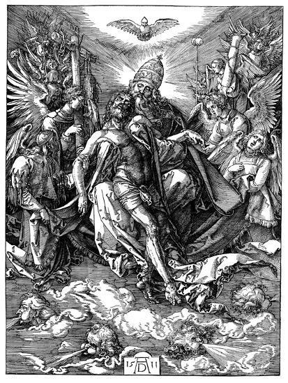 The Trinity, 1511-Albrecht Durer-Giclee Print