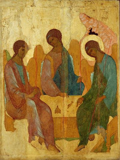 The Trinity, 16th Century Russian Icon--Giclee Print
