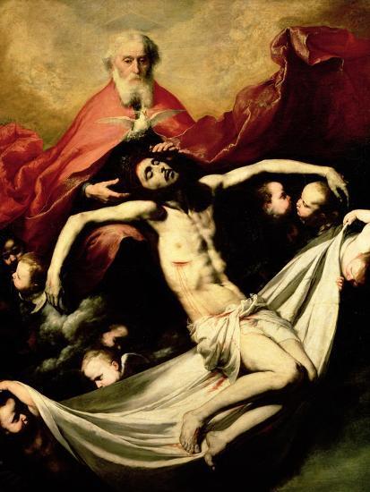The Trinity, circa 1635-Jusepe de Ribera-Giclee Print