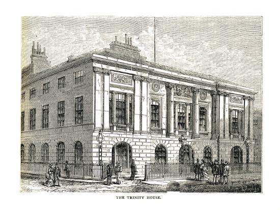 The Trinity House, 1878-Walter Thornbury-Giclee Print