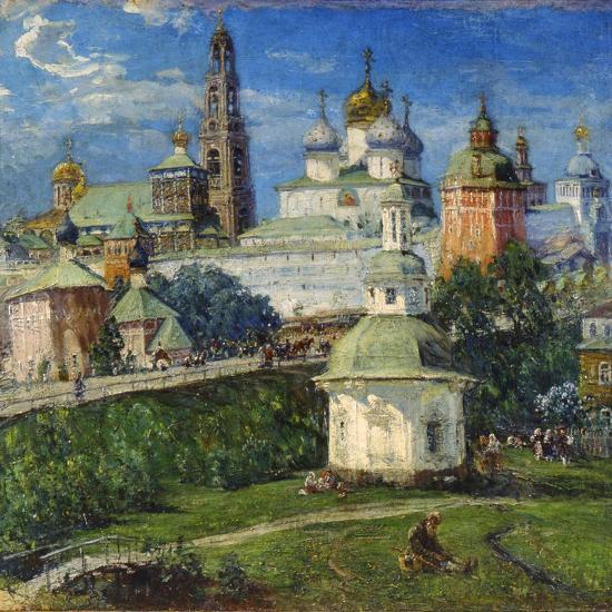 The Trinity Lavra of St Sergius in Sergiyev Posad, 1910S-Michail Boskin-Giclee Print