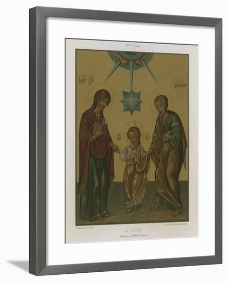 The Trinity--Framed Giclee Print