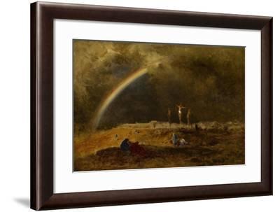 The Triumph at Calvary, C.1874-George Snr. Inness-Framed Giclee Print