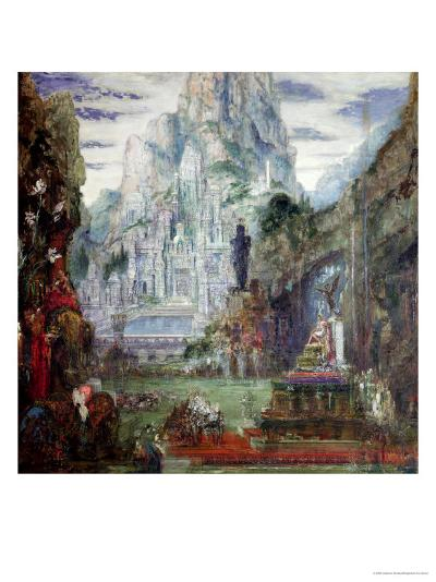 The Triumph of Alexander the Great-Gustave Moreau-Giclee Print