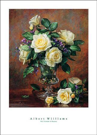 The Triumph of Beauty-Albert Williams-Art Print