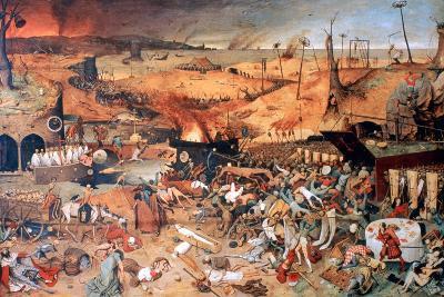 The Triumph of Death, C1562-Pieter Bruegel the Elder-Giclee Print