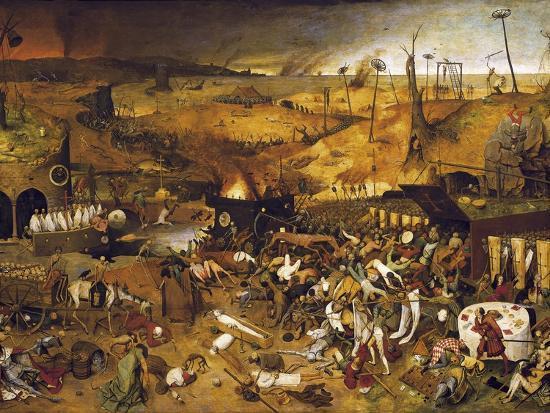 The Triumph of Death-Pieter Bruegel the Elder-Art Print