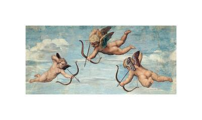 The Triumph of Galatea, 1511 (detail)-Raphael-Giclee Print