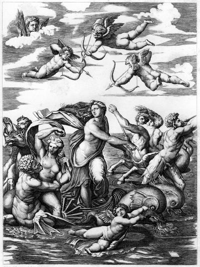 The Triumph of Galatea, 1512-L Delaistre-Giclee Print