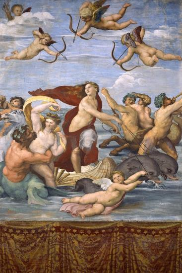 The Triumph of Galatea, C.1514-Raphael-Giclee Print