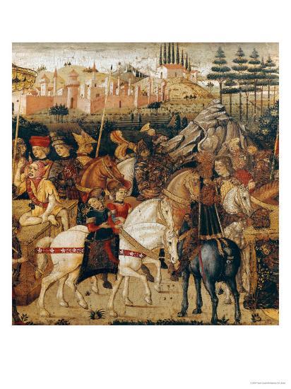 The Triumph of Julius Caesar-Paolo Uccello-Giclee Print