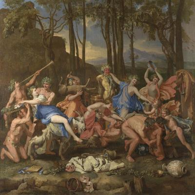 The Triumph of Pan, 1636-Nicolas Poussin-Giclee Print