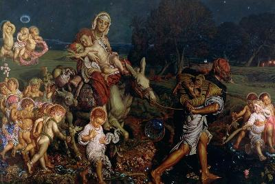 The Triumph of the Innocents, 1876-William Holman Hunt-Giclee Print