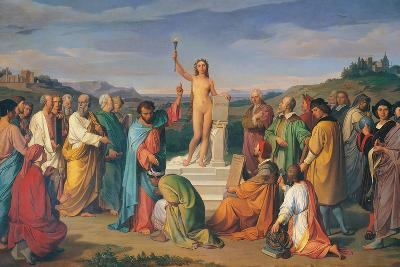 The Triumph of Truth-Luigi Mussini-Giclee Print