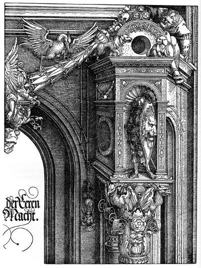 The Triumphal Arch of Emperor Maximilian I, 1515-Albrecht Durer-Giclee Print