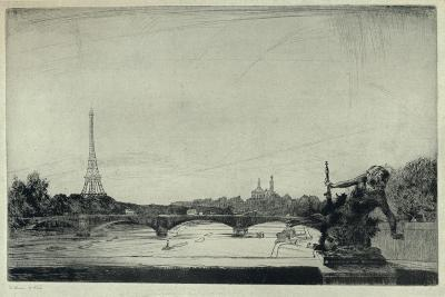 The Trocadero, 1915-William Walker-Giclee Print