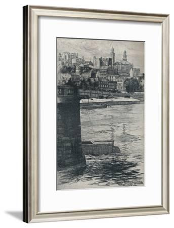 'The Trocadero, Paris', 1908-Frank Milton Armington-Framed Giclee Print