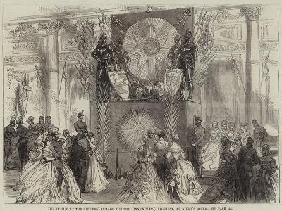 The Trophy at the Officers' Ball of the 27th (Inniskilling) Regiment, at Willis's Rooms--Giclee Print