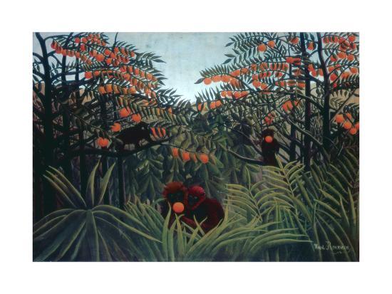 The Tropics, 1910-Henri Rousseau-Giclee Print