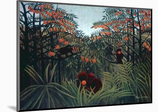 The Tropics, 1910-Henri Rousseau-Mounted Giclee Print