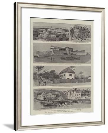 The Trouble in Ashanti, Scenes on the Gold Coast-Joseph Nash-Framed Giclee Print