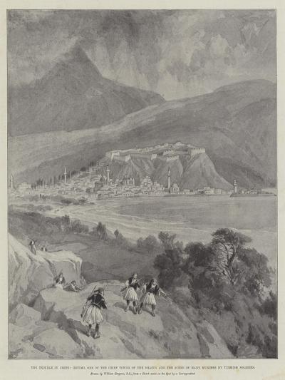 The Trouble in Crete-William 'Crimea' Simpson-Giclee Print