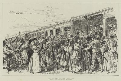 The Trouble in the Transvaal-Melton Prior-Giclee Print