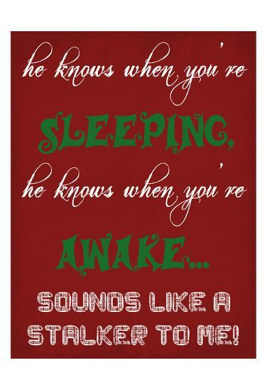 The True Santa-Sheldon Lewis-Art Print