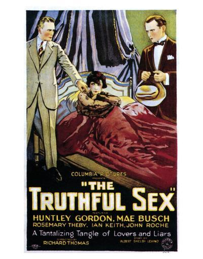 The Truthful Sex - 1926--Giclee Print
