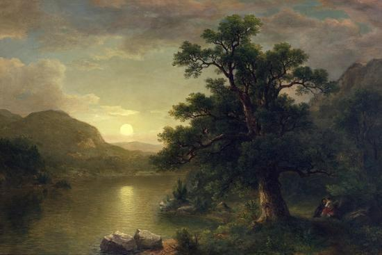 The Trysting Tree, 1868-Asher Brown Durand-Giclee Print