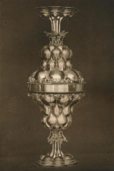 'The Tucher Double Cup', c17th century, (1927)-Edward F Strange-Giclee Print