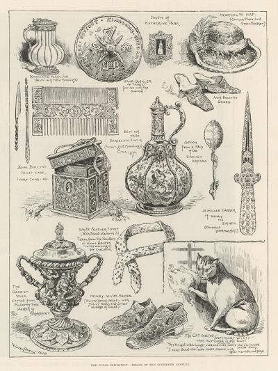 The Tudor Exhibition, Relics of the Sixteenth Century-Frederick George Kitton-Giclee Print