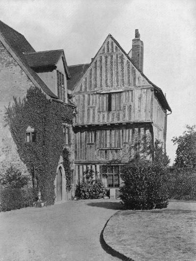 The Tudor Wing, Beeleigh Abbey, Near Maldon, Essex, 1924-1926-RE Thomas-Giclee Print