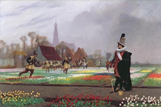 The Tulip Folly, 1882-Jean Leon Gerome-Giclee Print
